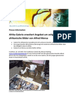 Alfred Mensa Presse-Info by BasicPR
