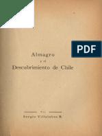 Almagro Al Descubrimiento de Chile Villalobos