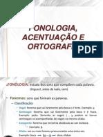 Fonologia e Ortografia