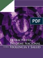 Informe_Nacional Sobre Violencia y Salud, Extracto