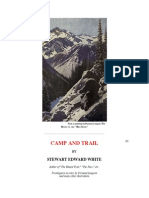 Camp and Trail, By Stewart Edward White