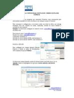 Tutorial Para Configurar Cuentas de Correo Outlook Express