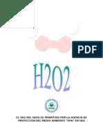 Usos Del H2O2 en El Hogar