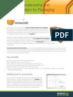 ArtiosCAD Module Description Apr10 | Page Layout | Portable Document