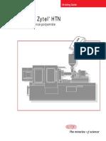 Zytel(TM) HTN Moulding Guide