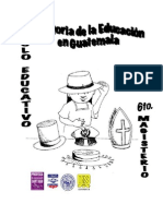 Historia de La Educacion en Guatemala