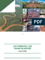 Ley forestal y Reglamento LEY Nº 27308 y DS Nº 014-2001
