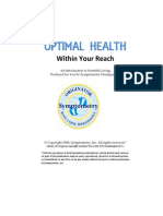 Optimal Health Within Your Reach, Free Symptometry E-Book