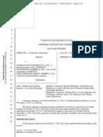 13-10-18 Apple v. Samsung Pretrial Conference Order