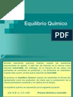 Equilibrio Químico - presentación