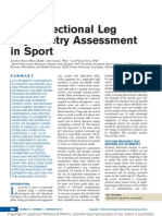Multidirectional Leg Asymmetry Assessment in Sport.13