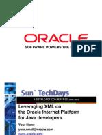 Oracle XML