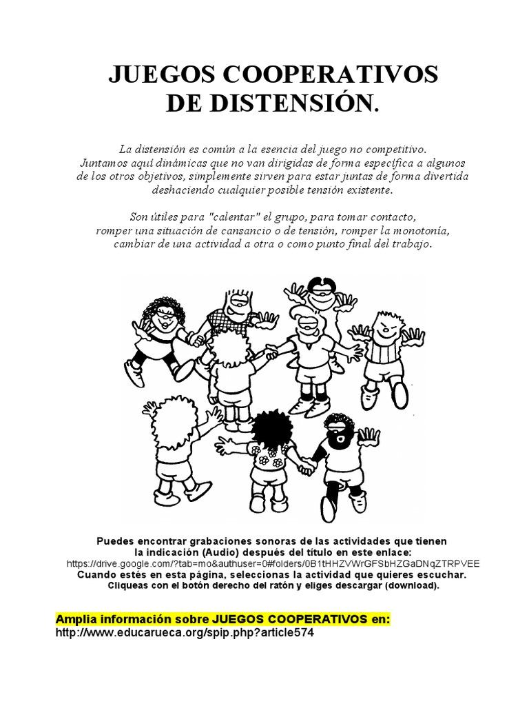 03 Juegos Cooperativos De Distensic3b3n W