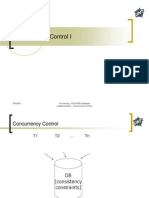 Concurreny Control part 1