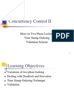 Concurrency Control II
