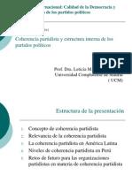 Coherencia Partidista Estruct Interna PP - Copia