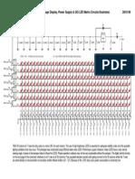 Display Schematic matriz de leds