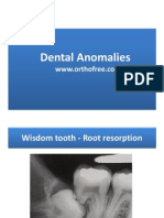 4-Dental Anomaly