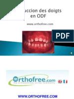 5-Succion Des Doigts en Orthodontie