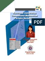 """MAKALAH 1 """"Kontribusi Universitas Gunadarma Membentuk Perilaku Berbudaya"""""""