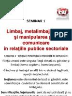 Seminar 1 Rps Limbaj