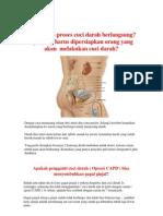 Bagaimana Proses Cuci Darah Berlangsung