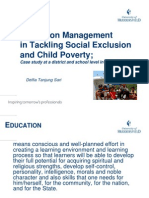 Education Management in Tackling Child Poverty and Social_21.05.2010
