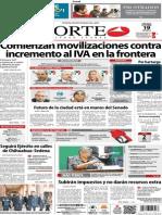Periódico Norte de Ciudad Juárez 19 de Octubre de 2013
