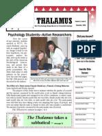 The Thalamus Dec. 2006 Vol. 11(2)