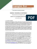Energia y Desarrollo Sostenible