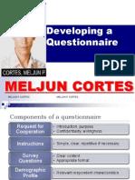 MELJUN CORTES Thesis Questionnaire