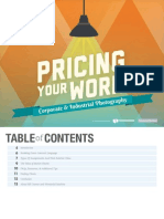Pricing Your Work Corporate and Industrial Photography