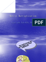 Eun Hyun Jedd2 (Matrix Multplication)