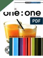 1 to 1 Student Pre Intermediate
