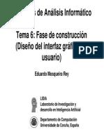 Tema 6 - Fase de Construccion Guis