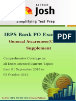 Ibps Bank Po Exam 2013_ga_supplement