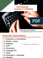 Developing a Joomla 3.x Module - Joomladay South Africa 2013