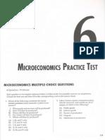 Microeconnomics Practice Exam 1