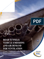 2012 Vehicle Emissions and Air Demand for Ventilation