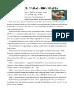 Biografia Rafael Nadal