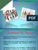 Presentación de dinámica de grupo