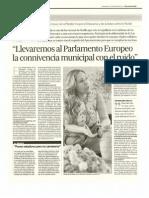 Emilia de La Serna Connivencia Municipal Ruido