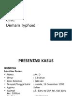 laporan kasus demam typoid