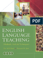 English language teaching methods, tools & techniques