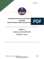 Trial Kedah SPM 2013 ENGLISH K1 K2 SET B