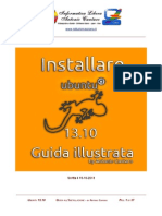 Ubuntu 13-10 Installazione Guida Illustrata