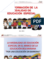 Reforma Educ Espc