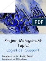 Logistic's Support by M.hashaam