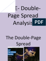 NME- Double-Page Spread Analysis Work