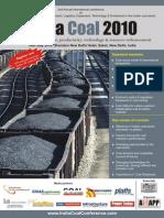 Event Brochure India Coal 2010